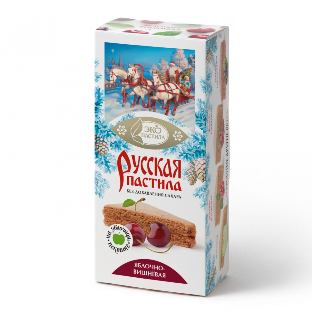 Пастила Русская Яблочно-вишневая