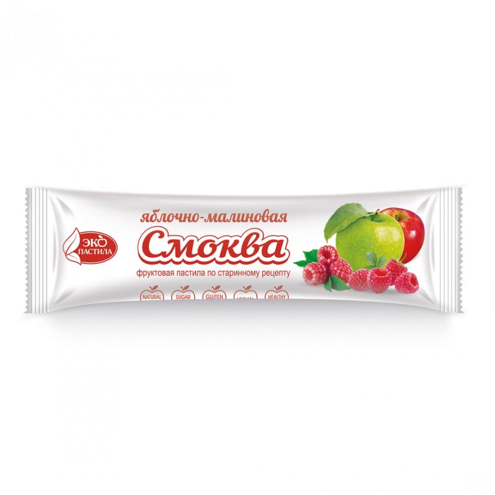 Смоква фруктовая пастила Яблочно-малиновая 30г